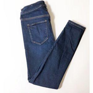 loft • dark denim skinny jean legging